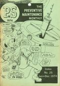PS The Preventive Maintenance Monthly Index 197401