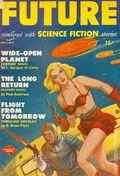 Future Combined with Science Fiction (1950-1951 Columbia Publications) Pulp 2nd Series Vol. 1 #3DEL