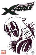 Uncanny X-Force (2010 Marvel) 1BDFSKETCH