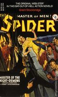 Spider Master of Men PB (1991 Novel) Carroll and Graf Edition 4-1ST