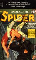 Spider Master of Men PB (1991 Novel) Carroll and Graf Edition 6-1ST