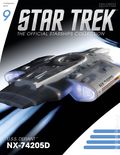 Star Trek The Official Starship Collection (2013 Eaglemoss) Magazine and Figure #009