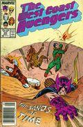 Avengers West Coast (1985) Mark Jewelers 20MJ
