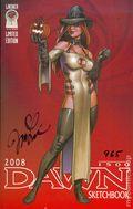 Dawn Sketchbook (2002) 2008.SIGNED
