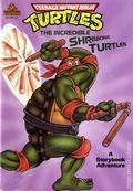 Teenage Mutant Ninja Turtles The Incredible Shrinking Turtles SC (1990 A Storybook Adventure) 1-REP
