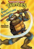 Teenage Mutant Ninja Turtles A Fishy Adventure SC (1990 A Storybook Adventure) 1-REP