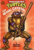 Teenage Mutant Ninja Turtles The Magic Crystal SC (1990 Random House) A Storybook Adventure 1-REP