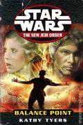 Star Wars The New Jedi Order Balance Point HC (2000 Del Rey Novel) 1B-1ST