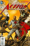 Action Comics (2011 2nd Series) 28B