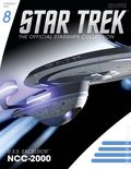 Star Trek The Official Starship Collection (2013 Eaglemoss) Magazine and Figure #008
