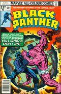 Black Panther (1977 Marvel 1st Series) UK Edition 10UK