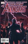 New Avengers (2005 1st Series) 1A.DF.SIGNED.B