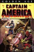 Golden Age Captain America Omnibus HC (2014-2021 Marvel) 1st Edition 1A-1ST