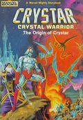 Crystar Crystal Warrior The Origin of Crystar SC (1983 Marvel Books) 1-1ST