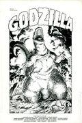 Godzilla Portfolio (1988) SET-01