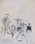 New Heroes Portfolio by Neal Adams (1979) 1979-SIGNED
