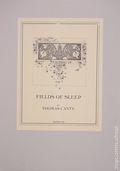 Fields of Sleep by Thomas Canty Portfolio (1981) 1981-SIGNED