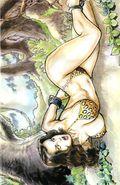 Cavewoman Oasis (2013 Amryl) 2B