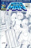 Mega Man (2011 Archie) 14CON