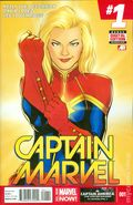 Captain Marvel (2014 8th Series) 1A