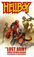 Hellboy The Lost Army PB (2004 A Pocket Star Books Novel) 1-1ST