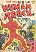 Human Torch (1954 L. Miller & Son) UK Edition 2