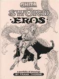Ghita The Sword of Eros (1985) Frank Thorne Portfolio SET