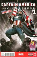 Captain America Living Legend (2013) 1A-NYCC