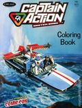 Captain Action Sketch Book Coloring Book (2013) 0-NYCC