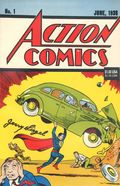 Action Comics (1938 DC) #1 Reprints 1.1992.DF.SIGNED