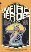 Weird Heroes Paperback (1975) 6-1ST