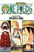 One Piece TPB (2009- Viz) 3-in-1 Volume 25-27-1ST