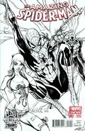 Amazing Spider-Man (2014 3rd Series) 1MIDTOWN.B&W
