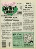 Comics Buyer's Guide (1971) 714