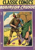 Classics Illustrated 010 Robinson Crusoe 1A