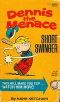 Dennis the Menace Short Swinger PB (1976 Fawcett Crest) 1-REP