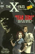 X-Files Year Zero (2014 IDW) 1SUB