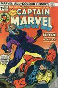 Captain Marvel (1968 1st Series Marvel) UK Edition 34UK
