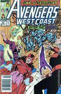 Avengers West Coast (1985) Mark Jewelers 53MJ