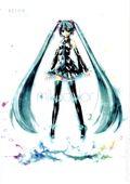 Mikucolor: KEI's Hatsune Miku Illustration Works SC (2014 Udon) 1-1ST
