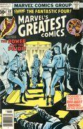 Marvel's Greatest Comics (1969) Mark Jewelers 69MJ