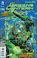 Green Lantern (2011 4th Series) 34A