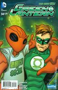 Green Lantern (2011 4th Series) 34B