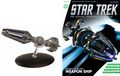 Star Trek The Official Starship Collection (2013 Eaglemoss) Magazine and Figure #022
