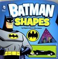 Batman Shapes HC (2014 Capstone Press) Board Book Small Edition 1-1ST