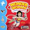 DC Super Friends: Wonder Woman A Word Adventure HC (2014 A Capstone Board Book) 1-1ST