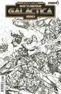 Steampunk Battlestar Galactica 1880 (2014 Dynamite) 1C