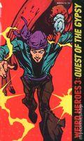 Weird Heroes Paperback (1975) 3-1ST