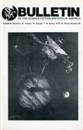 Bulletin Of The Science Fiction Writers Of America 69