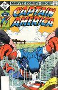Captain America (1968 1st Series) Whitman Variants 224